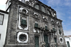 Church of the Jesuit College, Ponta Delgada, Portugal Royalty Free Stock Photography