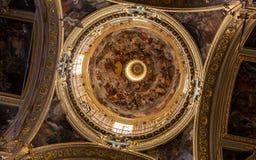 Church of Jesus, Genoa, Italy Royalty Free Stock Photos