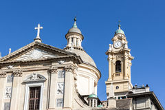 Church of Jesus and Saint Andrew Royalty Free Stock Photos