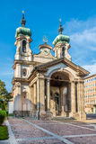 Church of Johannes Nepomuk in Innsbruck - Austria Stock Photos