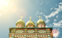 Church of John the Baptist inTrinity monastery, Sergiyev Posad,. Church of the Nativity of St. John the Baptist inTrinity monastery (Trinity Lavra of St Sergius Royalty Free Stock Photography