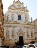 Church of John the Baptist in Lecce Stock Photography