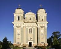 Church of Jude Thaddaeus in Luchaj. Belarus Stock Photos