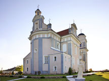 Church of Jude Thaddaeus in Luchaj. Belarus Royalty Free Stock Photo