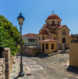 Church in Kalamata old town, Peloponnes, Greece Royalty Free Stock Photography