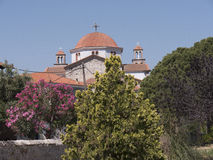Church at Kalloni Lesvos Greece Stock Photos