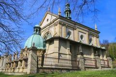 Church in Kalwaria Zebrzydowska, Poland. Royalty Free Stock Photos