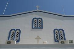 Church in Kamari Royalty Free Stock Image