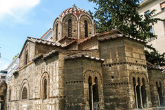 Church Kapnikarea in Athens Royalty Free Stock Images