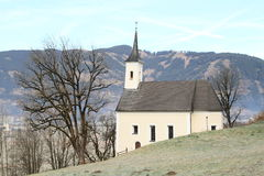 Church by Kaprun castle Royalty Free Stock Photo