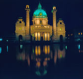 Church Karlskirche, Vienna Royalty Free Stock Photos