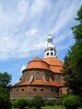 Church in Katowice. View on church in Katowice, Poland Royalty Free Stock Images