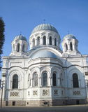 Church in Kaunas, Lithuania Royalty Free Stock Photography