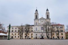Church in Kaunas Stock Image