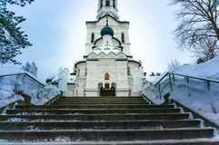 Church of the Kazan Icon of the Mother of God. stock images
