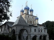 Church of the Kazan Icon of the Mother of God royalty free stock photo