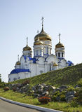 Church of the Kazan icon of the Mother of God in Nakhodka. Primorsky Krai. Russia Royalty Free Stock Photos