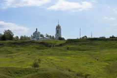 Church of the Kazan Icon of the Mother of God Royalty Free Stock Photography