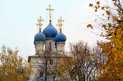 Church of the Kazan icon of the Mother of God in the park Kolomenskoye. Moscow, Russia. Royalty Free Stock Image