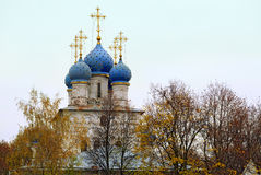 Church of the Kazan icon of the Mother of God in the park Kolomenskoye. Moscow, Russia. Stock Photography