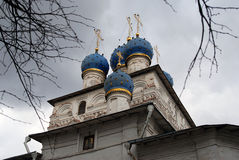 Church of the Kazan Icon of the Mother of God Royalty Free Stock Image