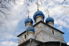 Church of the Kazan Icon of the Mother of God Royalty Free Stock Images