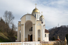 Church of Kazan icon Our Lady in Dagomys, Russia Royalty Free Stock Photos