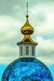 Church of Kazan Mother of God in the city of Maloyaroslavets of the Kaluga region in Russia. Stock Image