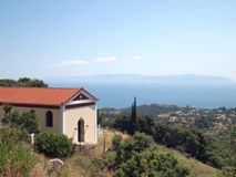 A church in Kefalonia Royalty Free Stock Photography