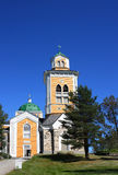 Church of Kerimaki. Big church of Kerimaki, Finland Royalty Free Stock Photos