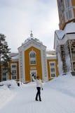 The Church in kerimäki. Stock Image