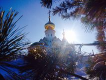 Church in Khabarovsk Royalty Free Stock Photography