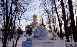 Church in Khabarovsk Royalty Free Stock Images