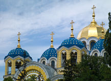 Church in Kiev Royalty Free Stock Photos