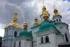 Church in Kiev Pechersk Lavra Stock Photo
