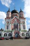 Church in Kiev , Ukraine. Orthodox church on a background blue sky Royalty Free Stock Photos