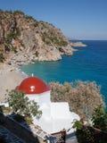 Church Kira Panagia on Karpathos, Greece Stock Photo