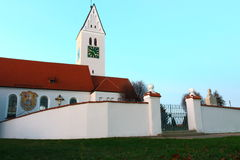 Church Kirchdorf. In Schwaben country Stock Photography