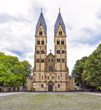 Church in Koblenz, Germany. The Basilica of St. Castor - the oldest church in Koblenz, Germany Stock Images