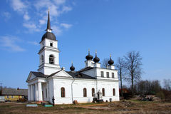 Church in Kobona, Russia Royalty Free Stock Photography