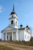 Church in Kobona, Russia Royalty Free Stock Photo