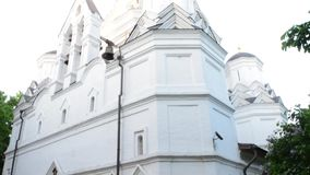 Church in Kolomenskoye stock video