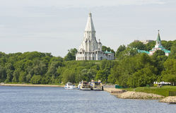 Church in Kolomenskoye, Moscow Royalty Free Stock Images