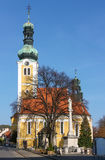 The church in Koszeg, Hungary Royalty Free Stock Photography