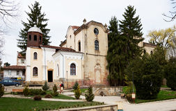 Church of Kotel town in Bulgaria. Exterior of the Orthodox church in Kotel town Bulgaria, Eastern Europe Royalty Free Stock Photo