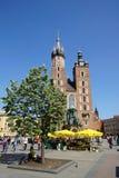 Church in Krakow Stock Photo