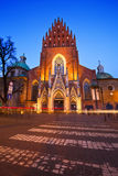 Church in Krakow. Royalty Free Stock Photos