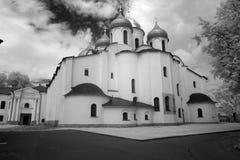 Church in The Kremlin (Detinets-stronghold). Great (Veliky) Novg Stock Images