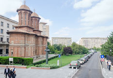 The Church Kretzulescu build by Iordache Cretulescu. Bucharest, Romania Royalty Free Stock Photos