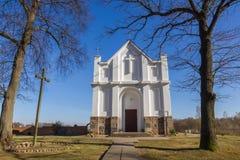 Church in Kroshyn (Kroszyn), Belarus. Royalty Free Stock Photo